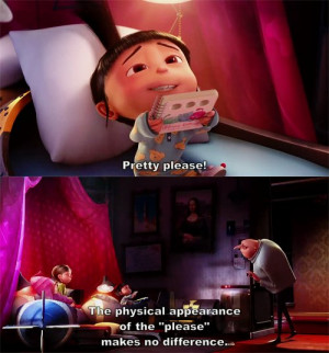 agnes, cute, despicable me, dispicable me, gru, margo, sweet