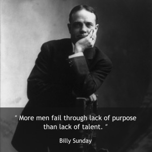 Billy Sunday's quote