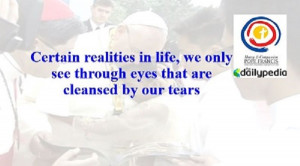 Top Ten Quotes by Pope Francis During His Stay in the Philippines