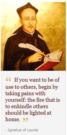 St. Ignatius of Loyola quote #jesuit More