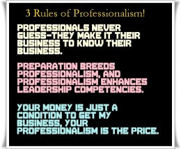 Inspirational Quotes about Professionalism