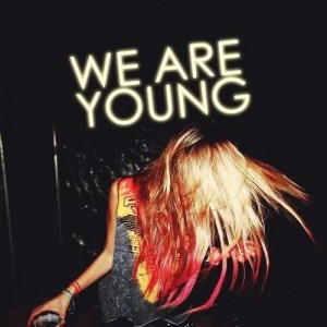 awesome, dip dye, party, rock and roll, test, we are young, woman ...