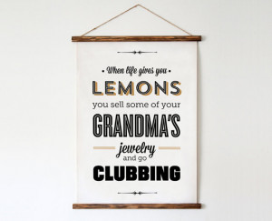 Typography Print, Quote Print, Parks and Rec, Tom Haverford, Clubbing ...