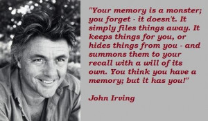 John irving famous quotes 1