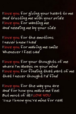 love you Quote iPhone Wallpaper Download