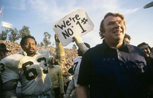 Football: Super Bowl XI: Oakland Raiders coach John Madden walks off ...
