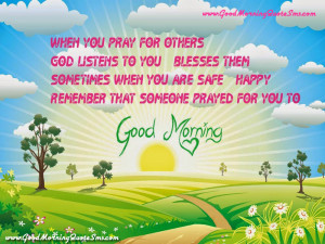 Good Morning Prayer SMS – God Bless your day Quotes Pictures Images ...