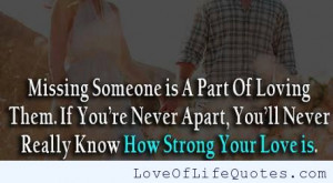 Funny Quotes Missing Someone