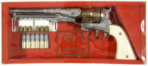 Hubley Colt 45 Cap Pistol On Ebay By picture