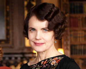 Elizabeth McGovern says husband WEPT at the death of her on-screen ...