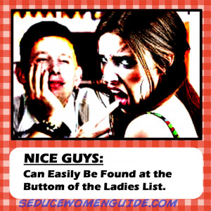 "nice guys finish last dating psychology Here are the real reasons why women don't  and do not get the girl, hence the idiom ""nice guys always finish last  and here's a bit of psychology for ."