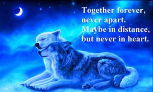 Together forever...