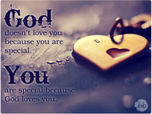 You Are Special You are special