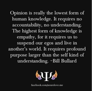 Keep your opinions to yourself