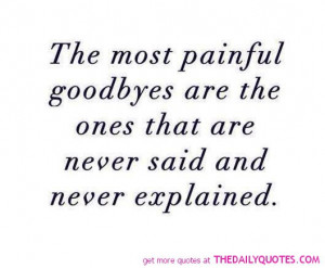 Sad Goodbye Quotes For Love Love life quot... sad goodbye
