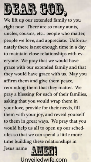 prayer quotes for family quotes picture by ayisha celebration prayers ...