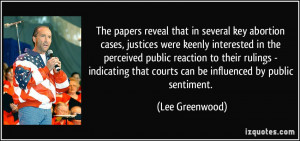 papers reveal that in several key abortion cases, justices were keenly ...
