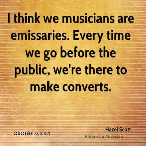 Hazel Scott Quotes