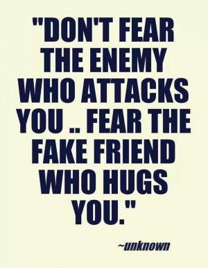 Amen!!! Fake friends