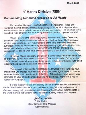... 19 Unforgettable Quotes From Retiring General James 'Mad Dog' Mattis