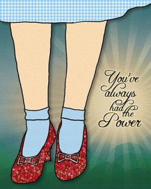 Glinda the good witch, quote.