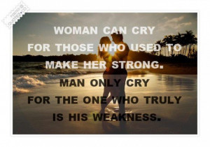 Woman and man quote