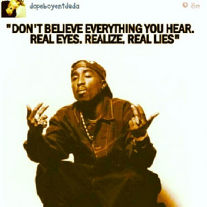 rp #repost #tupac #2pac #quotes #real (Taken with Instagram )