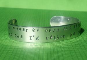 Wreck it Ralph Inspired – Hand Stamped Cuff – Custom Jewelry ...