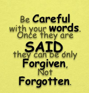 Be careful with your worlds.....