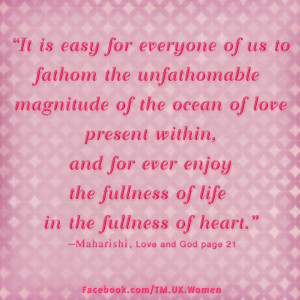 It is easy for everyone of us to fathom the unfathomable magnitude of ...