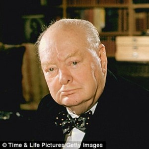 Winston Churchill appears in the new poll twice