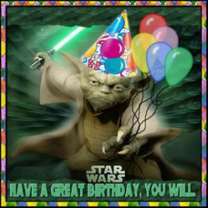 Happy Birthday, Yoda!