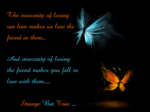 The insecurity of losing