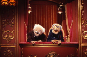 Television's most famous hecklers, Statler and Waldorf, as drawn by ...