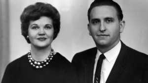 Frances Beverly Johnson Monson and Husband Thomas S. Monson
