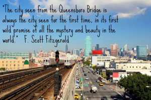 Quote about NYC by F. Scott Fitzgerald Image by Harlem Spirituals ...