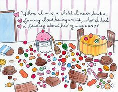 Candy fantasy