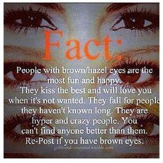 ... brown eyes brown eye quotes hmmm interesting brown hazel eye color eye
