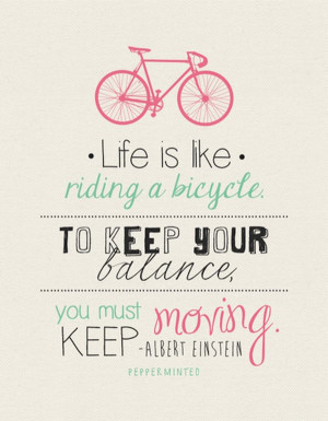 Favorite Inspirational Bike Quotes