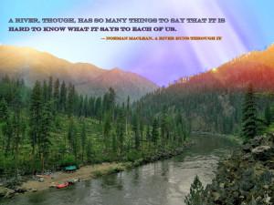 Ruff Creek Camp, Main Salmon River, Idaho