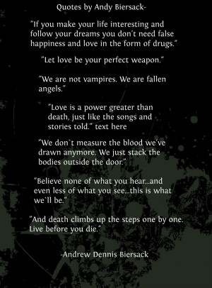 Quotes by Andy Sixx