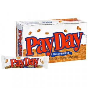 MAKE YOUR OWN PAY DAY CANDY BAR