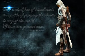 Assassins Creed Quotes Altair Altair Inspirational Quote