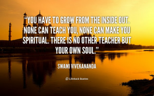 There Other Teacher But Your Own Soul Swami Vivekananda