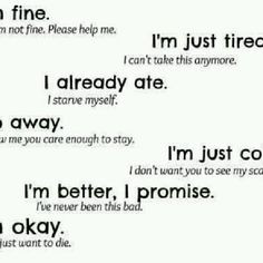 Anorexia Quotes Anorexia, i love this