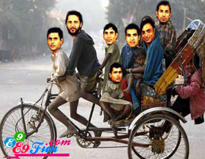Pakistani Team Players...