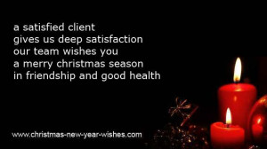 Christmas Greetings Quotes For Business ~ CLIENTS WISHES for chirsmas ...