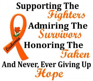 Leukemia Cancer Quotes