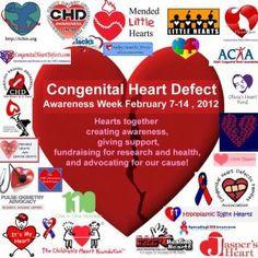CHD Awareness Week 2012 | Congenital Heart Defects UK