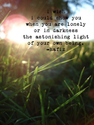 Sunset through the Grass with Hafiz Quote by fiercegreen on Etsy, $12 ...